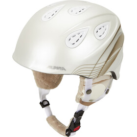 Alpina Grap 2.0 Casque, white-prosecco matt